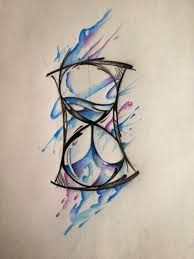 Image result for simple hourglass tattoo