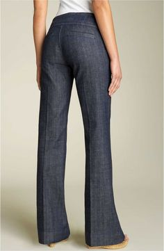 Product Image 2 Fashion Pants, Look Fashion, Fashion Outfits, White Jeans Outfit, Petite Jeans, Cute Jeans, Trouser Jeans, Mode Outfits, Work Attire