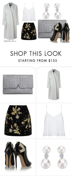 """""""Night and Day"""" by stencie on Polyvore featuring Vince, DAMIR DOMA, Topshop Unique, Alice + Olivia, Casadei, women's clothing, women's fashion, women, female and woman"""