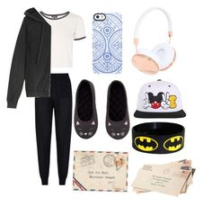 """Getting The Mail In SWAG STYLE"" by delacruz-a ❤ liked on Polyvore featuring STELLA McCARTNEY, Topshop, H&M, Frends, Uncommon and American Vintage"