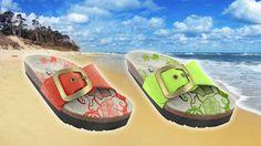 Votre allié #minceur : une paire de sandales #DRAINAFLEX couleur chocolat à 15.90€ au lieu de 34.70€ ! #deal