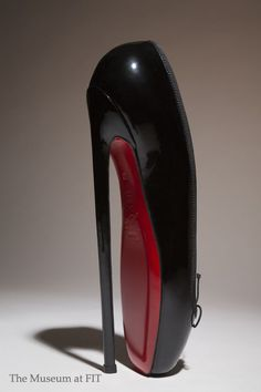 Christian Louboutin / Fetish Ballerine, 2007 / Courtesy Christian Louboutin    / Currently on view in Shoe Obsession / Photograph © The Museum at FIT / http://www.fitnyc.edu/13787.asp