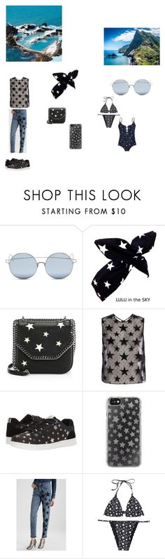 """""""madeira"""" by effyswanhaze ❤ liked on Polyvore featuring For Art's Sake, STELLA McCARTNEY, ED Ellen DeGeneres, Casetify, GAS Jeans and Madewell"""