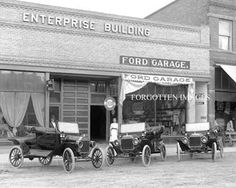 Early Ford Dealership Michelin Tires Sign 1910s. 8x10 photo print. $12.95.