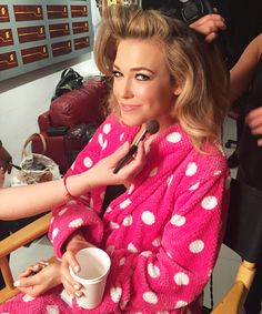 Sneak Behind the Scenes with Rachel Platten at the Teen Choice Awards from #InStyle #makeup #heathercurriebeauty