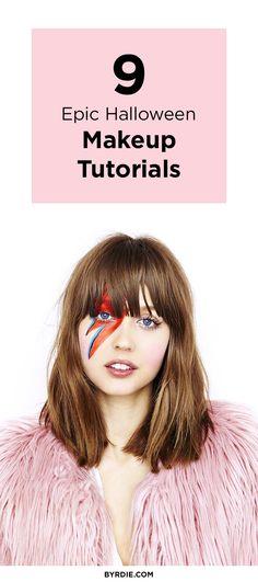 9 costume-free Halloween makeup ideas