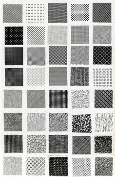 Textiles and textures, Bruno Munari