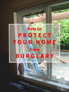 First hand tips for protecting your home from burglary. Feel safe and smart in your home.