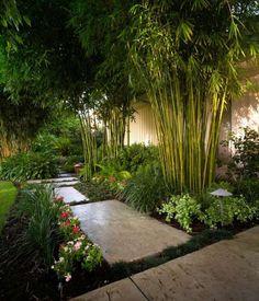 Garten Ideen mit dem exotischen Bambus sind sehr beliebt und effektvoll