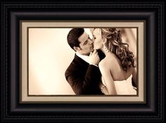 28 best framed wedding invitations and portraits images on pinterest