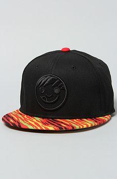 470b4c51628 NEFF The Quest Cap in Black   Rasta Streetwear Fashion