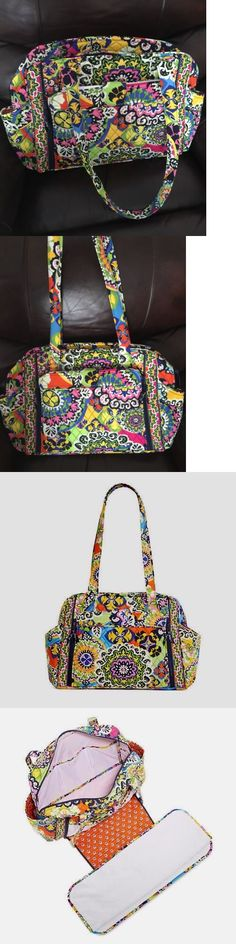 Diaper Bags 169295  New Vera Bradley  Make A Change  Baby Diaper Bag In Rio  Print -  BUY IT NOW ONLY   64.99 on eBay! 083474560ca5c
