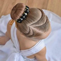 62 Box Braids Hairstyles with Instructions and Images - Hairstyles Trends Baby Girl Hairstyles, Dance Hairstyles, Kids Braided Hairstyles, Box Braids Hairstyles, Trendy Hairstyles, Kids Hairstyle, Hairstyles 2016, French Braid Ponytail, French Braids