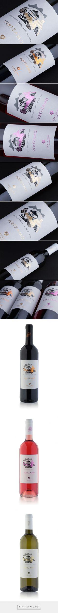 Vertzamo Wines - Packaging of the World - Creative Package Design Gallery - http://www.packagingoftheworld.com/2016/06/vertzamo-wines.html