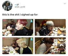 I hope they're always happy and eating lots