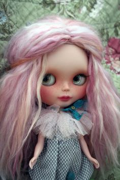 #Custom #BlytheDoll OOAK SBL Takara I love by #bonjourmapoupee - #Blythe