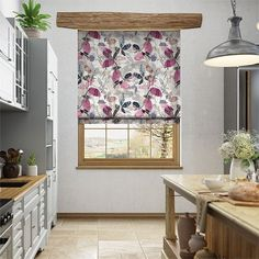 Hadley Linen Vintage Plum Roman Blind Curtains With Blinds, Made To Measure Blinds, Kitchen Decor, Curtains, Roman Blinds, Valance Curtains, Roman Blinds Kitchen, Window Dressings, Blinds