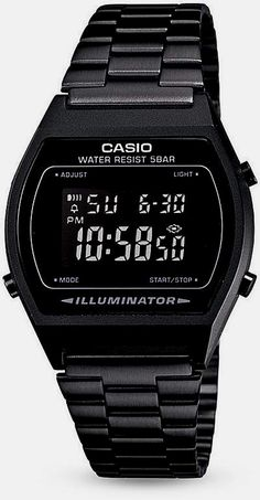 Men's Casion watch. Whether it is functionality or looks, Casio Watches already have it all. Once you discover what exactly you would like, a little shopping around via the internet will help you find very good promotions.