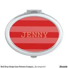 Your Custom Oval Compact Mirror