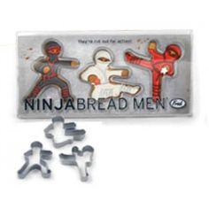 Ninjabread Men Cookie Cutters  $10.95
