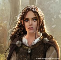 Arwen (cropped) by Magali Villeneuve
