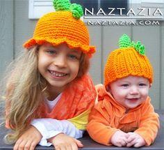 Halloween Fall Autumn Pumpkin Hats for Kids