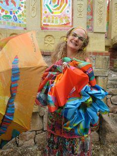 Parapluie automatique de la Saint Valentin.