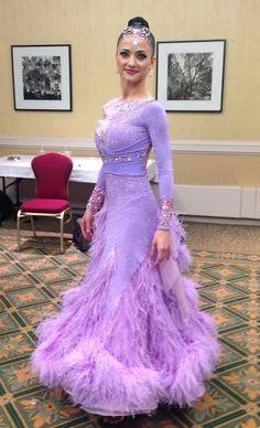Gorgeous lavender gown