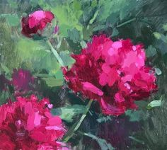 Clare Bowen Gallery of Original Fine Art Clare Bowen, Peonies Garden, Fine Art Gallery, Impressionist, Art Lessons, Paintings, The Originals, Abstract, Awesome