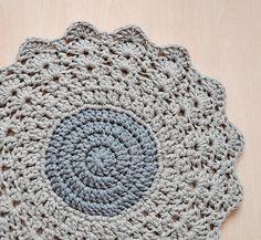 Ganchillo de alfombra redondas alfombra alfombra alfombra