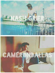 Nash Grier and Cameron Dallas