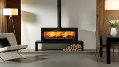 free standing wood burning fireplace | Stovax is pleased to introduce a new woodburning fire to its extensive ...