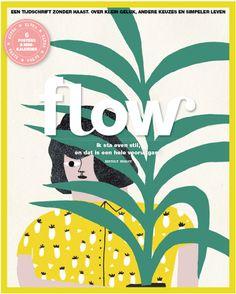 Cinta Arribas firma la portada de la revista holandesa Flow.