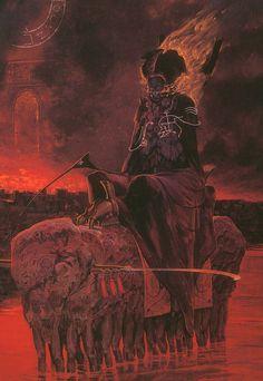 Wayne Barlowe´s Inferno