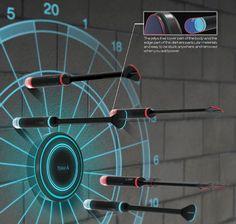 The Extreme Laser Dartboard
