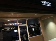 Cape Coral Restaurants - Great food, craft beer, and wine are served up at 10 Twenty Five!