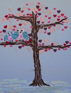 Painel de corujas - Dia das Mães IMEAN 906