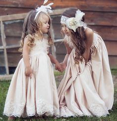 Hollywood Flower Girl Dresses