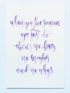recent projects // calligraphy