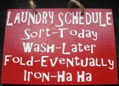 Iron - ha ha!