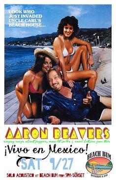 Sábado 27 de Septiembre: Aaron Beavers en Vivo en México Restaurante Beach Bum 5pm Solo Acústico