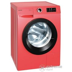 Gorenje W7543LR Elöltöltős mosógép, piros