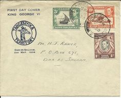 KUT King George VI 1st Day Cover 1938