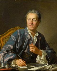 Denis Diderot (1767) (Langres, 5 de octubre de 17131 - París, 31 de julio de 1784) fue una figura decisiva de la Ilustración como escritor, filósofo y enciclopedista francés - Louis-Michel van Loo  (2 de marzo de 1707, Tolón, Francia - 20 de marzo de 1771, París, Francia). Su estilo puede considerarse del barroco final, enlazando con el academicismo del neoclásico