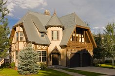 Not your average Tudor Style Home