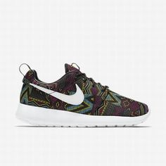 reputable site 474a4 a11f3  103.34 nike windrunner jacket womens,Nike Womens Black Noble Red Summit White  Roshe One Jacquard BHM Shoe