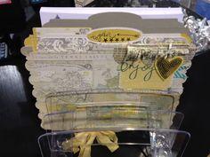 Brand New Heidi Swapp Projects Mini Scrapbook Albums, Scrapbook Paper Crafts, Scrapbook Cards, Paper Crafting, Mini Albums, Flip Books, Memory Album, File Folders, Heidi Swapp