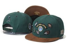 Cayler And Sons Snapback Caps Hats Green/Brown Oans Zwoa Gsuffa 471