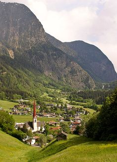 Village of Oetz, Tyrol, Austria, beautiful, just look how clean