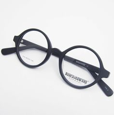 2dfeff9493 Harry Potter s Round Vintage Retro Amber Optical Eyeglass Frame Spectacles  Rx